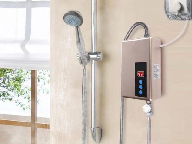 Комплектация проточного водонагревателя