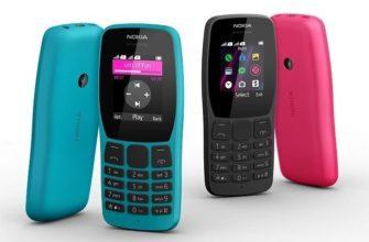Новый кнопочный телефон Nokia 110
