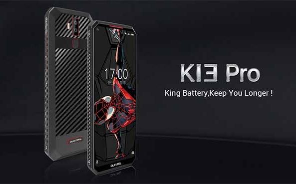 Oukitel K13 Pro с мощной батареей 11000 мАч