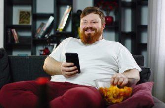 Почему люди толстеют, пользуясь смартфоном?