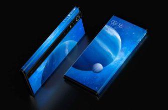 Xiaomi обернула экран вокруг смартфона