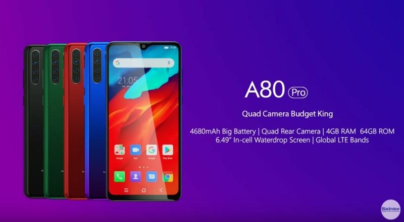 Характеристики Blackview A80 Pro