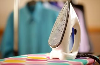 Как почистить тефлоновый утюг от нагара