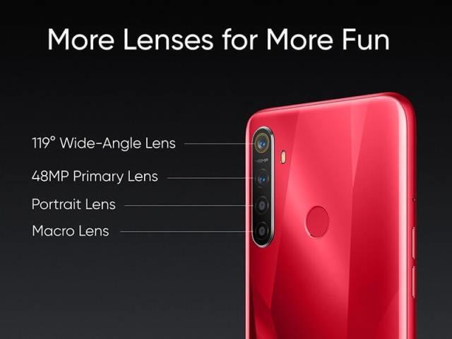 Камера Realme 5S