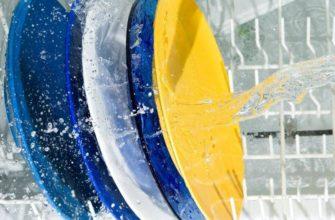 Почему остается белый налет на посуде после посудомоечной машины