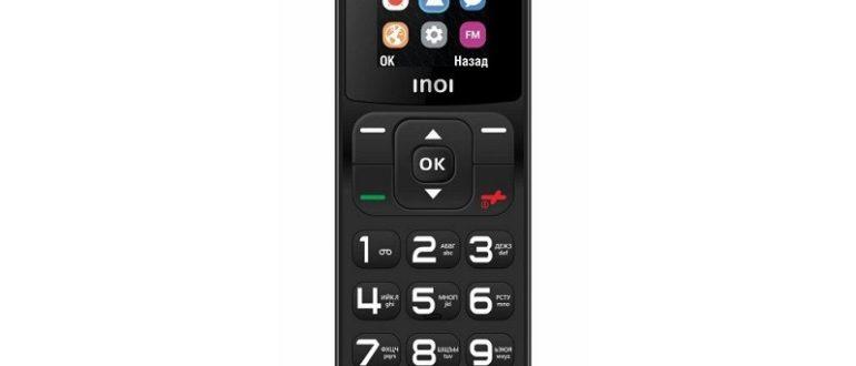 Выпущен мобильный телефон INOI 104 как альтернатива стационарному телефону
