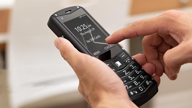 Кнопочный телефон AGM M5 на ОС Android