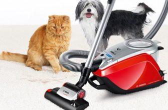 Лучшие пылесосы для уборки шерсти домашних животных