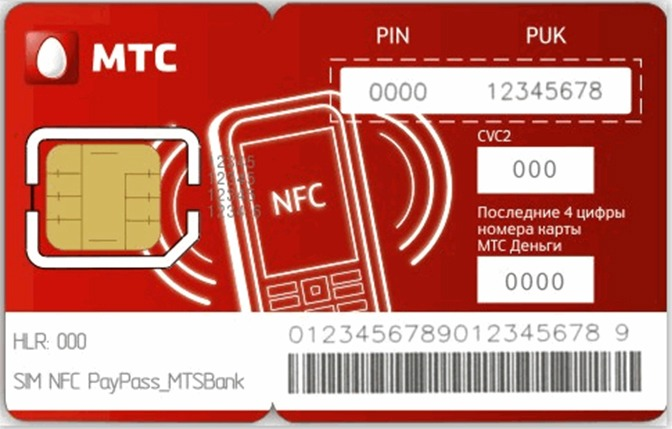 SIM-карты с поддержкой NFC