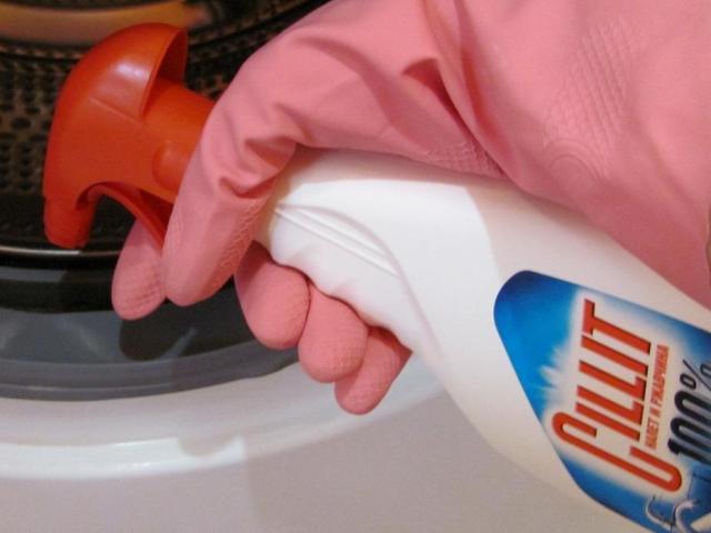 Силит для чистки стиральной машины