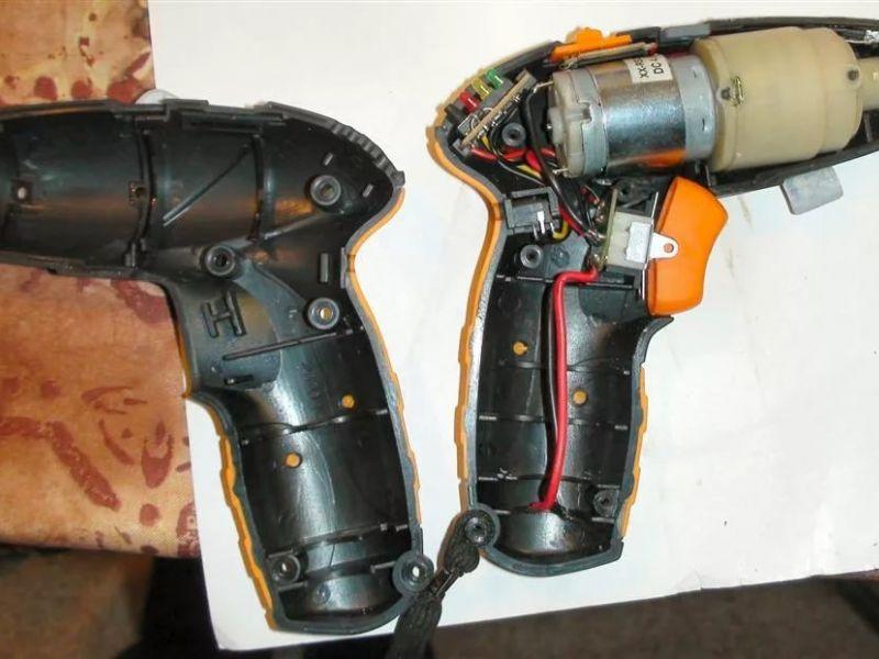 Как разобрать аккумулятор шуруповерта