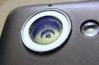 Как убрать царапины на камере телефона самостоятельно