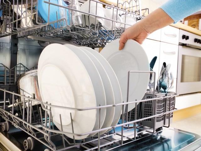 Правильная загрузка посуды