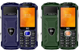 Обзор кнопочного телефона BQ 2819 Tank Quattro