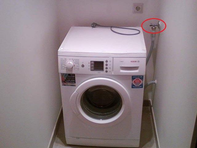 неправильное подключение стиральной машины
