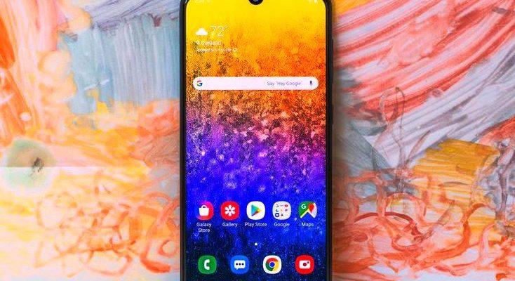 Обзор смартфона Samsung Galaxy A50s