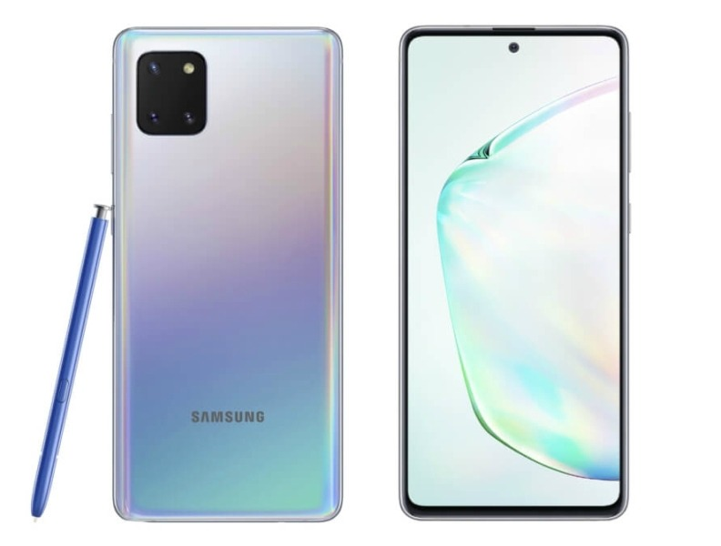 Характеристики Samsung Galaxy Note10 Lite