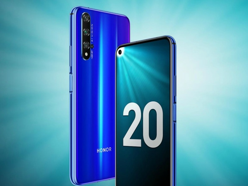 Обзор смартфона Honor 20
