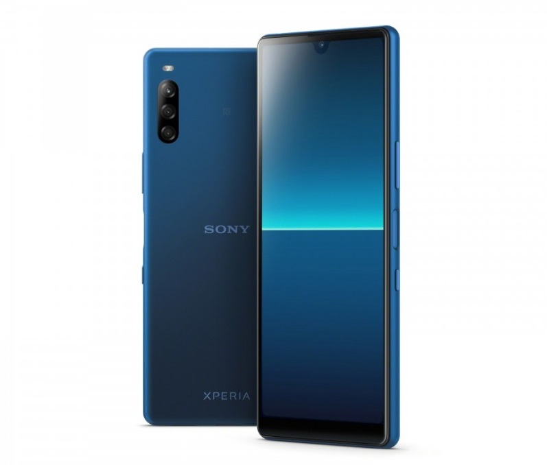 Sony Xperia L4 в синем цвете