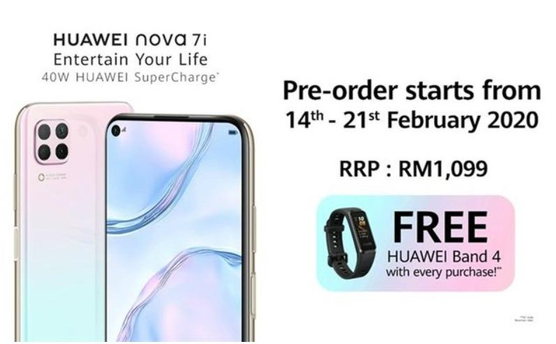 Цена Huawei Nova 7i