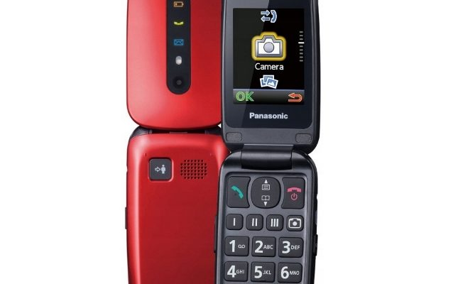 Обзор кнопочного телефона Panasonic TU456