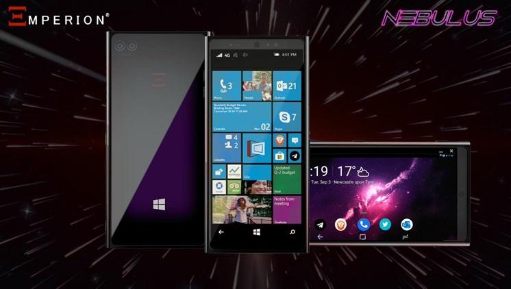 Emperion Nebulus на Windows 10 с поддержкой Android