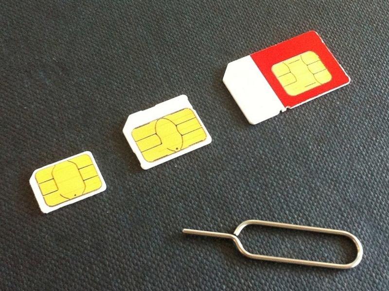 Не отображается SIM-карта