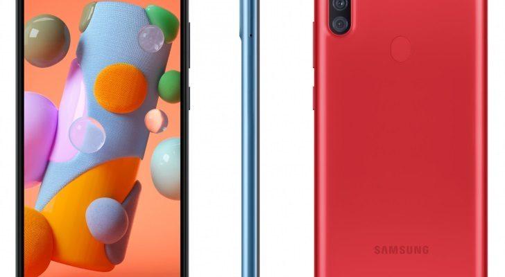Анонсирован новый бюджетный смартфон Samsung Galaxy A11