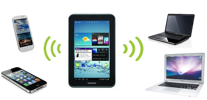 Как раздать Wi-Fi с планшета на другое устройство