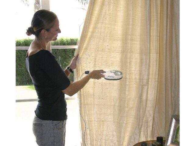 Глажка штор паровым утюгом