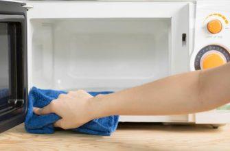 Как убрать ржавчину в микроволновке