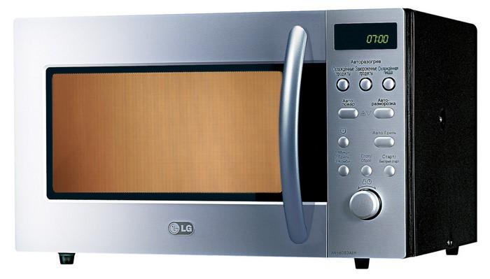 микроволновая печь Lg как настроить время