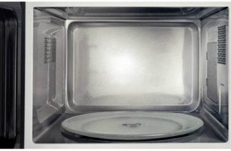 Что делать, если не крутится тарелка в микроволновой печи