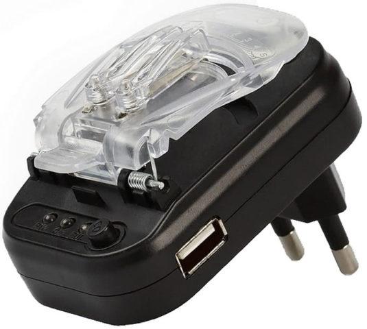 Универсальное зарядное устройство или «Лягушка» для зарядки батареи планшета