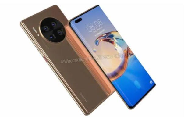 Дизайн смартфона Huawei Mate 40 Pro