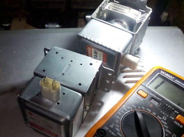 Как проверить магнетрон на исправность