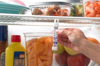 Оптимальная температура для холодильника