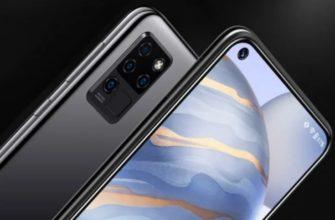 Oukitel C21 – современный безрамочный смартфон с квадрокамерой, FHD+ разрешением и плавной работой