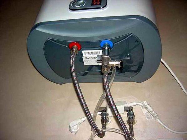 Установка предохранительного клапана