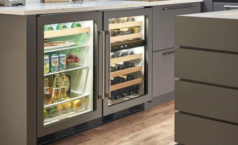 Типы винных холодильников