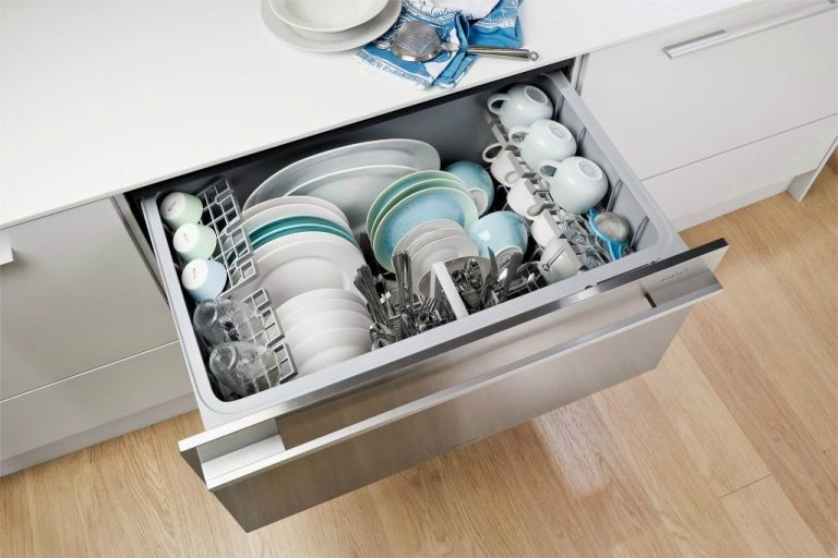 Возможные варианты встраивания посудомойки