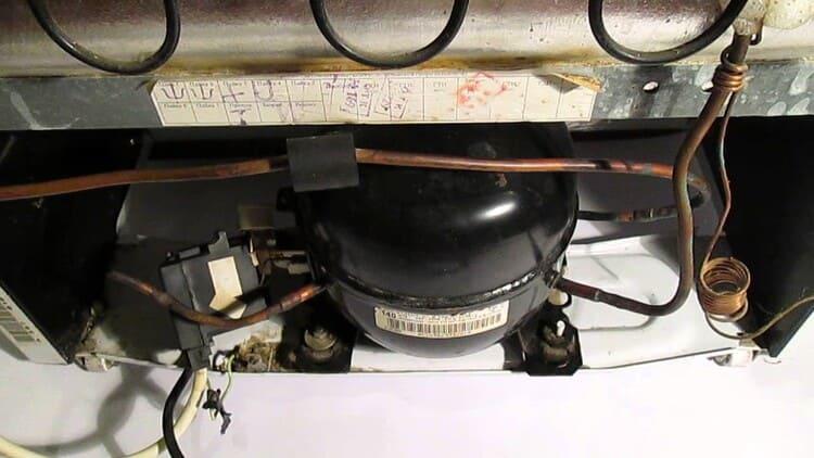 Поломка компрессора как причина шума