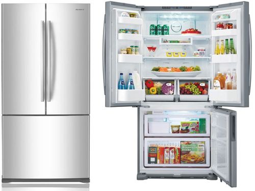 Холодильник с большой морозилкой