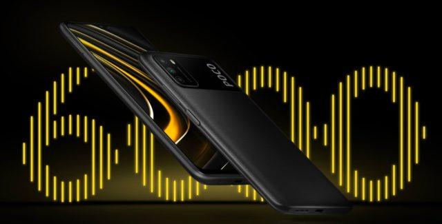 Xiaomi Poco M3 с батареей 6000 мАч