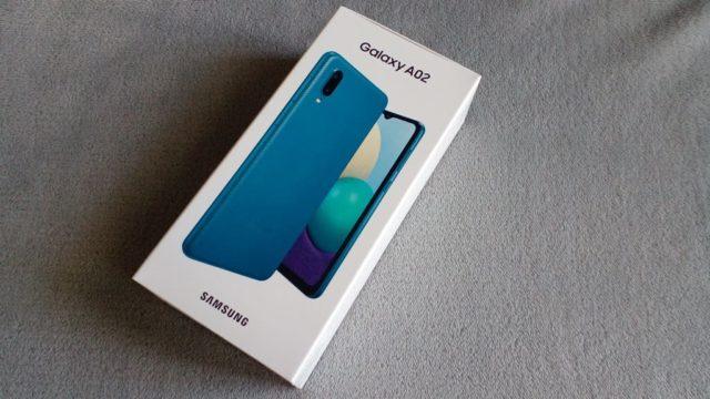 Фото с Samsung Galaxy A02