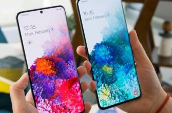 Смартфоны линейки Samsung Galaxy S20
