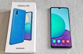 Обзор Samsung Galaxy A02
