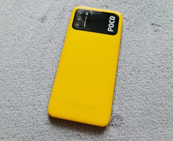 Камеры на задней панели Xiaomi Poco M3
