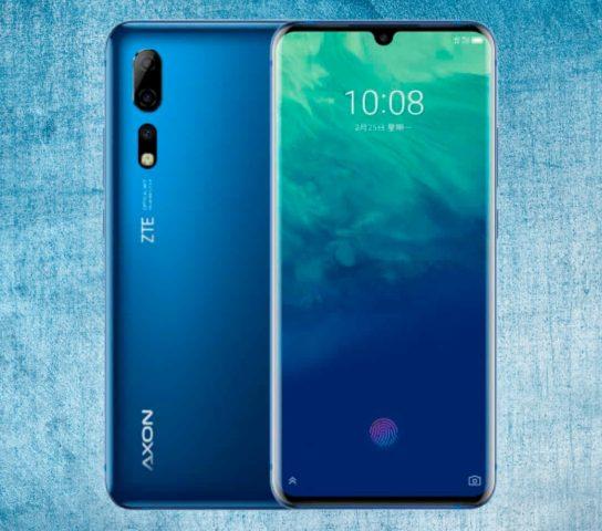 Характеристики смартфона ZTE Axon 10 Pro