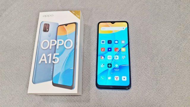 Дисплей смартфона Oppo А15